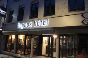 facade de l'hypnos hotel à HESDIN
